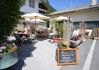 Terrasse - Wienerhof Trins - Wipptal