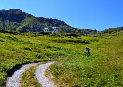 Padasterjochhaus Mountainbike E-Bike Trins Wipptal