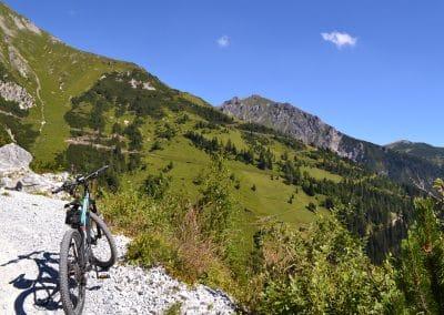 Bike und Wandern Padasterjochhaus Trins (22)