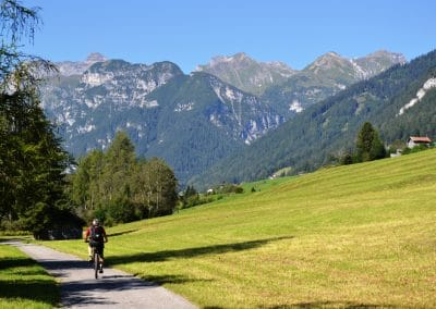 Biken im Wipptal - E-Bike Trins Wienerhof